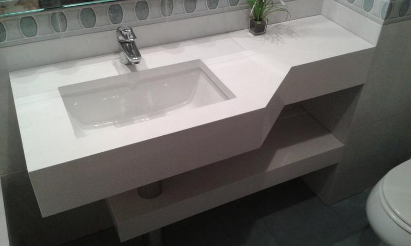Muebles de ba o granito m rmol silestone - Encimera marmol precio ...