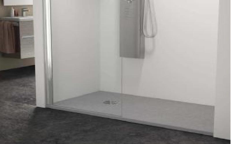 Platos de ducha masa coloreada granito m rmol silestone for Plato ducha silestone
