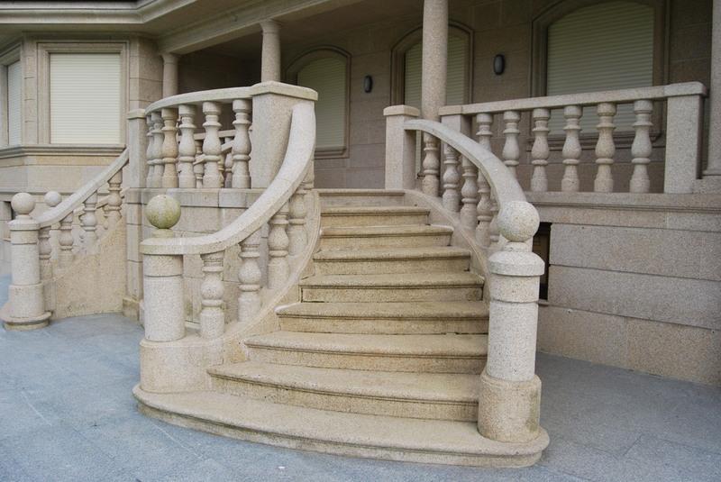 Escaleras granito m rmol for Gradas para exteriores